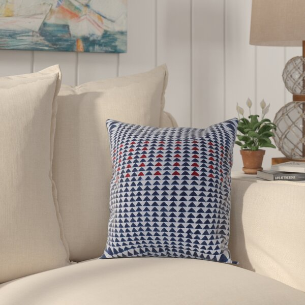 Fernandez Spun Threads with a Soul™ Arrow Woven 100% Cotton Throw Pillow by Longshore Tides